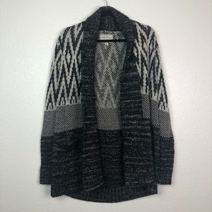 Lucky Brand Thick heavy kit long sweater cardigan